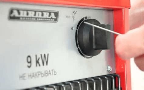 Маркировка мощности - 9 кВт