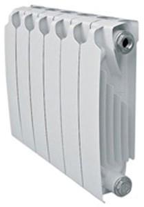 Биметаллический отопительный радиатор