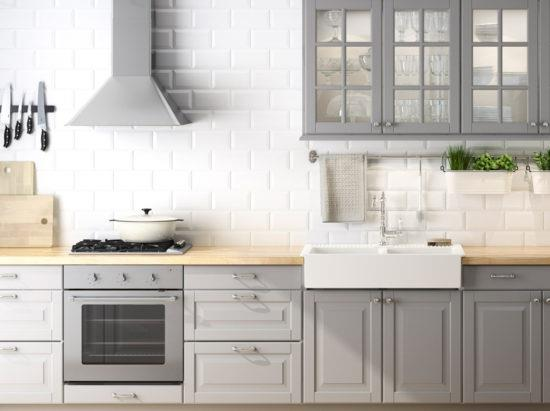 Тонкости оформления кухни в серой палитре