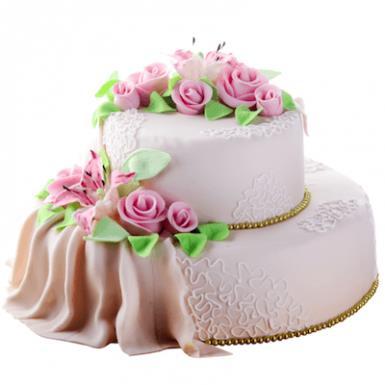 Торт «Розовый шик»