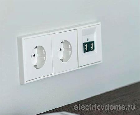 выбор розеток и выключателей освещения