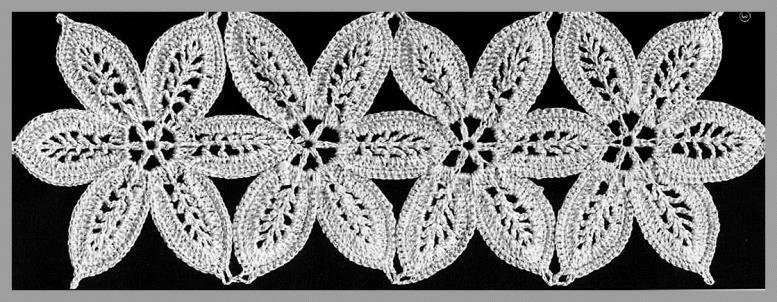 Вязание кружев в дикрете