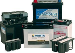 Какие бывают виды аккумуляторных батарей