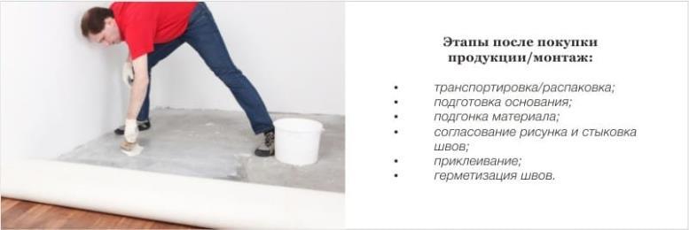 Как положить линолеум на кухне своими руками