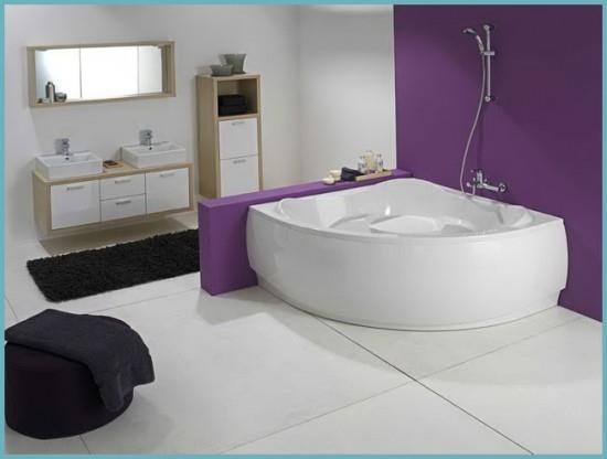 виды акриловых ванн по форме