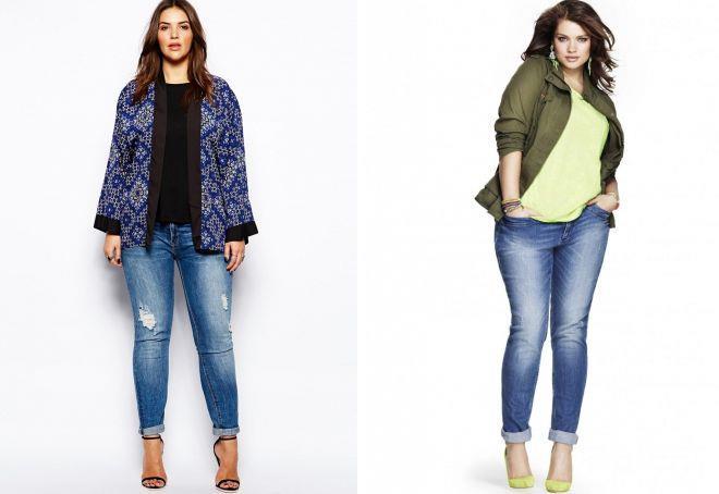 джинсы для невысоких полных женщин