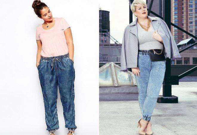 джинсы для полных женщин 2017