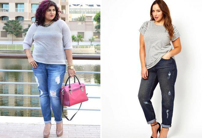 джинсы для женщин с полными ногами