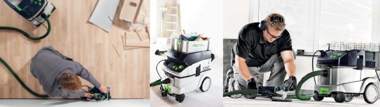 Подобрать промышленный или строительный пылесос под инструмент