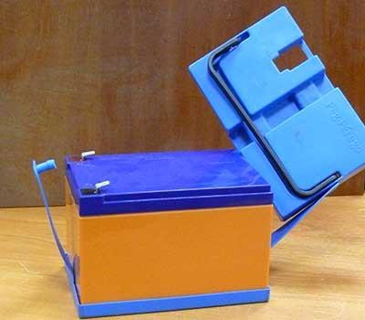 Замена аккумулятора в детском электромобиле