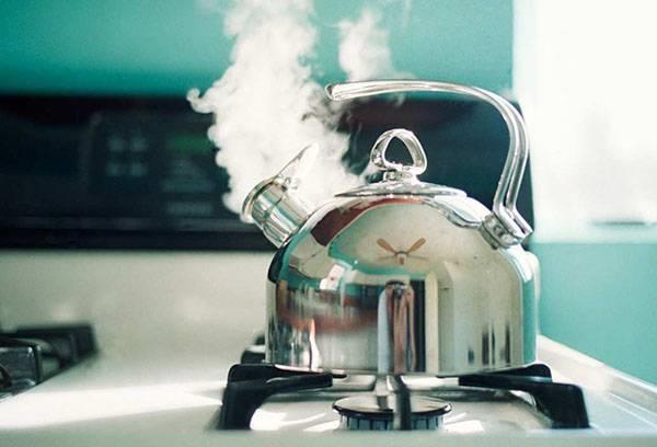 Чайник из нержавеющей стали