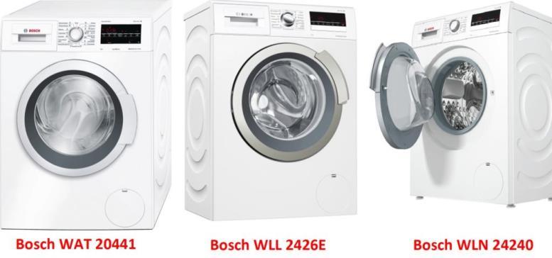 Bosch WAT 20441 Bosch WLN 24240 Bosch WLL 2426E