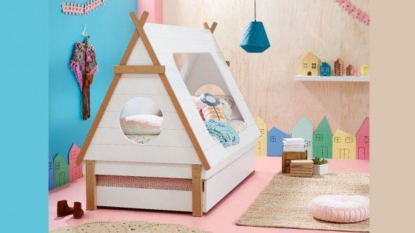 кровать шалаш для детей