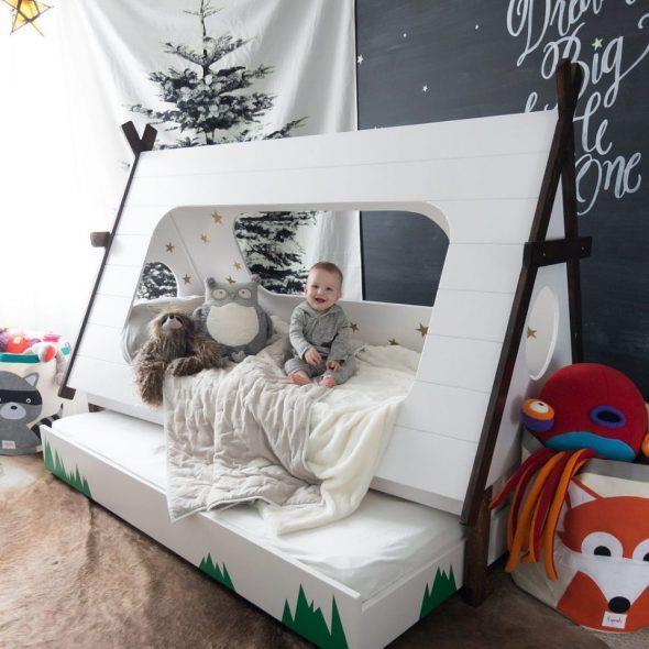Дом кровать в виде шалаша
