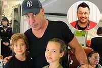 Сергей Жуков всамолете познакомил своих детей слидером группы Rammstein
