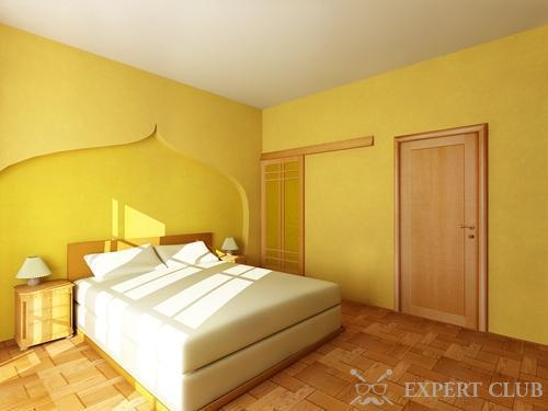 Желтый цвет и ничего лишнего