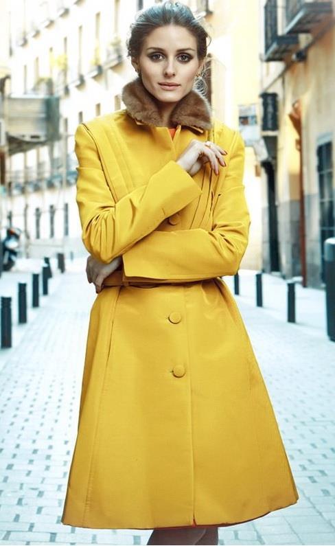 Психология желтого цвета в одежде