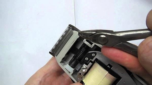 Регулировка малого ножа