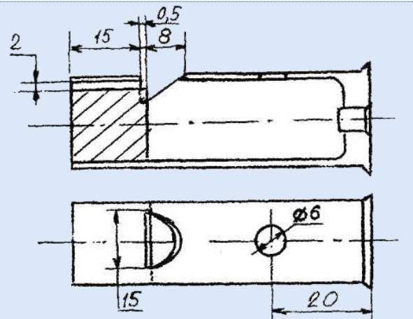 Перед изготовлением манка лучше нарисовать чертеж или использовать готовую схему