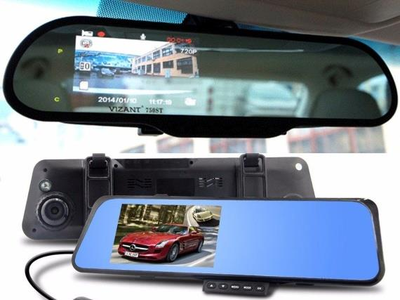 Лучшие видеорегистраторы в зеркале с камерой заднего вида
