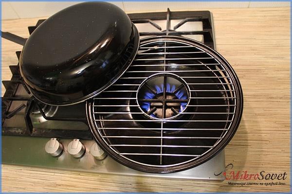Особенности сковороды гриль газ