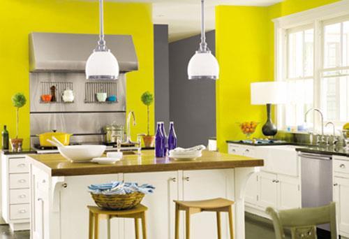 Сочетание цветов мебели для кухни