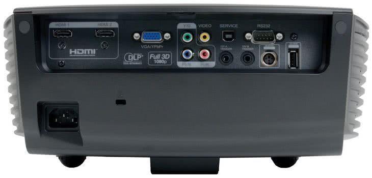 Разъемы подключения проектора Optoma HD91