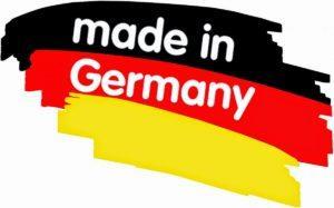 машинки изготовлены в Германии