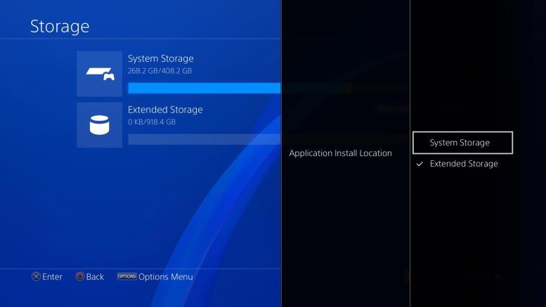 Как отформатировать внешний диск для PS4