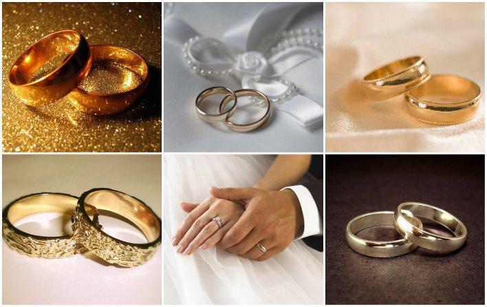 Классические модели свадебных колец