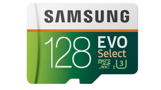 Карта памяти MicroSD Samsung Evo Select