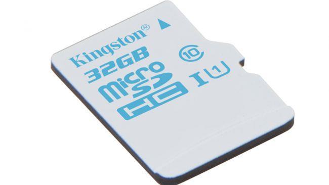 Карта памяти MicroSD Kingston microSD Action Camera