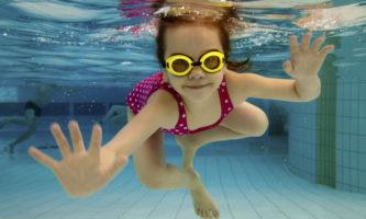 Очки для плавания ребенку
