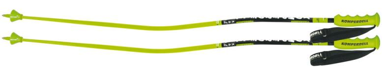 Зеленые горнолыжные палки