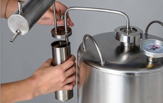 Объем самогонного оборудования