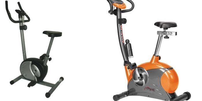 Магнитный и ременный велотренажеры