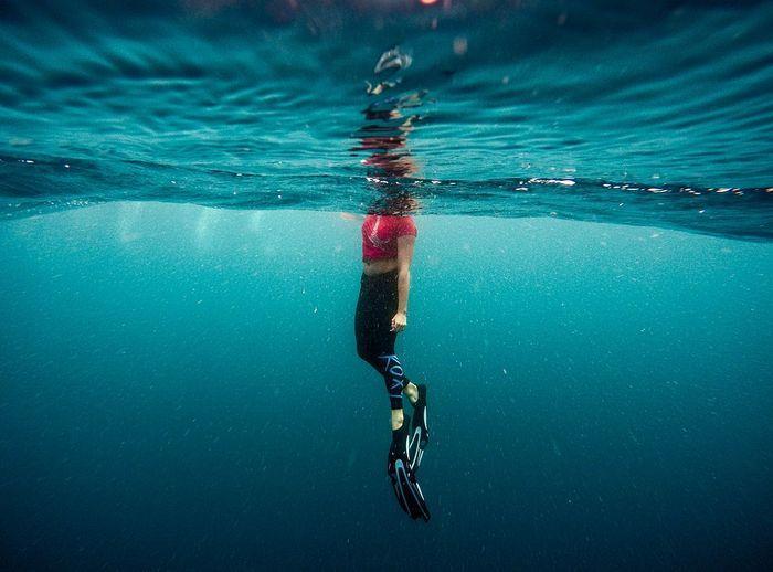 Как выбрать ласты для плавания? Источник: pixabay