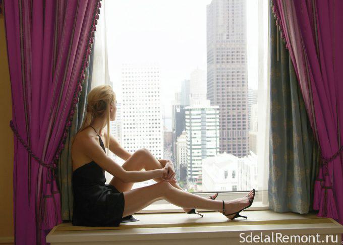 Куда в окна квартиры в городе смотрят