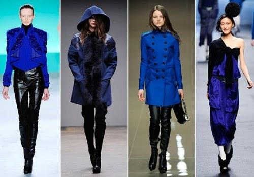 Значение синего цвета в одежде