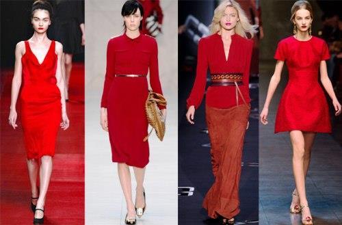 Значение красного цвета в одежде