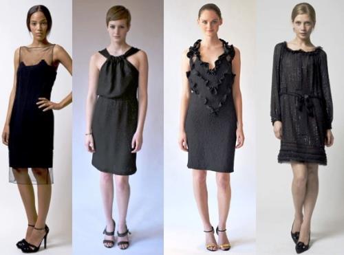 Значение черного цвета в одежде
