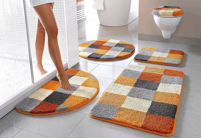 Коллекция ковриков для ванной