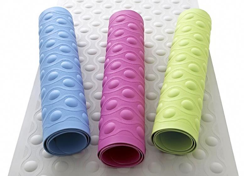 Резиновые коврики для ванной