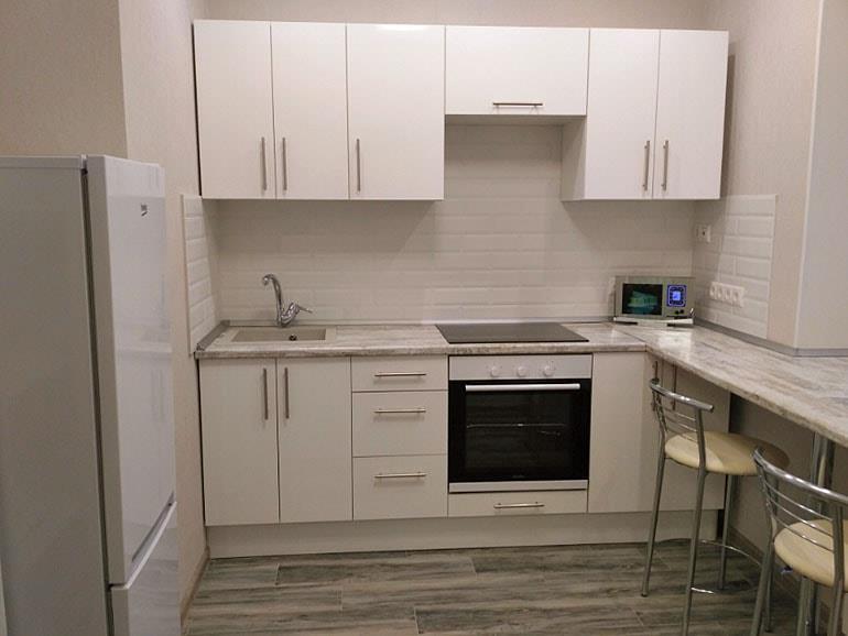 Каталог кухонь Леруа Мерлен с реальными фото и примерами цен