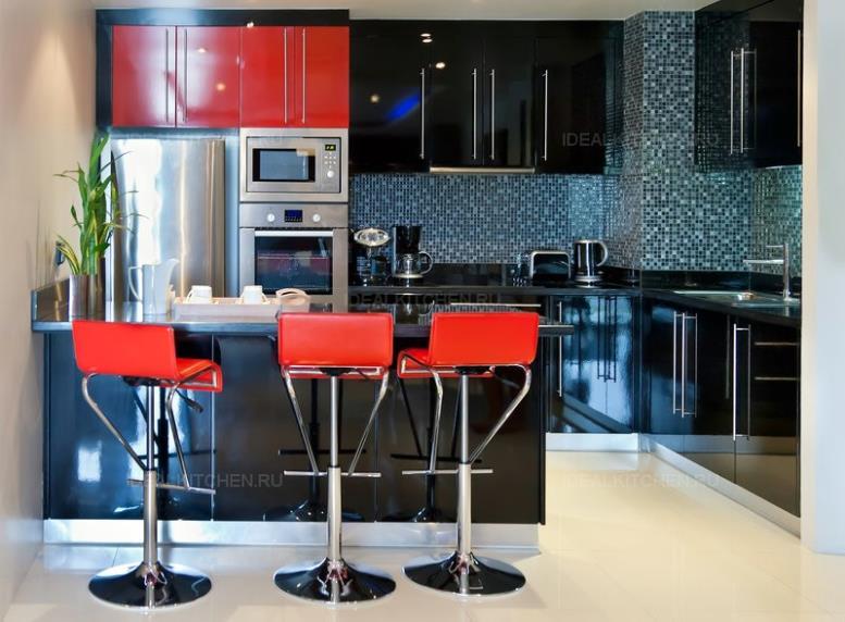 Черные кухни - секреты стильного дизайна