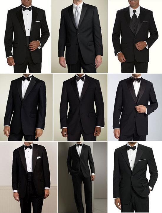 виды костюмов на свадьбу