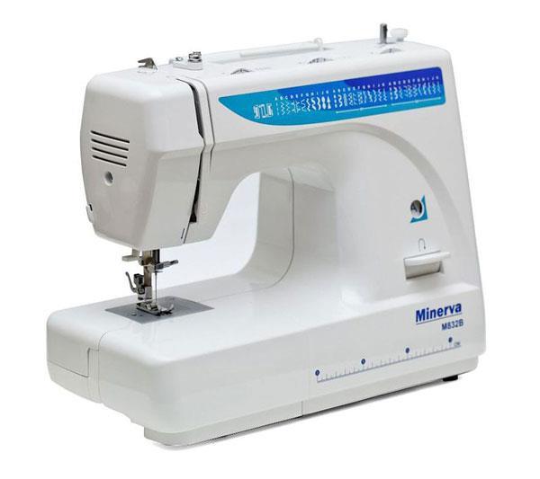 Швейная машинка Minerva с вертикальным челноком