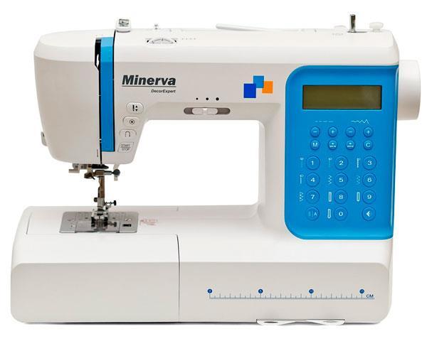 Профессиональная копьютеризированная швейная машина Minerva DecorExpert