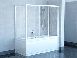 Шторки для ванны: красиво и практично