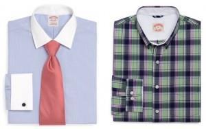классическая и спортивная рубашка